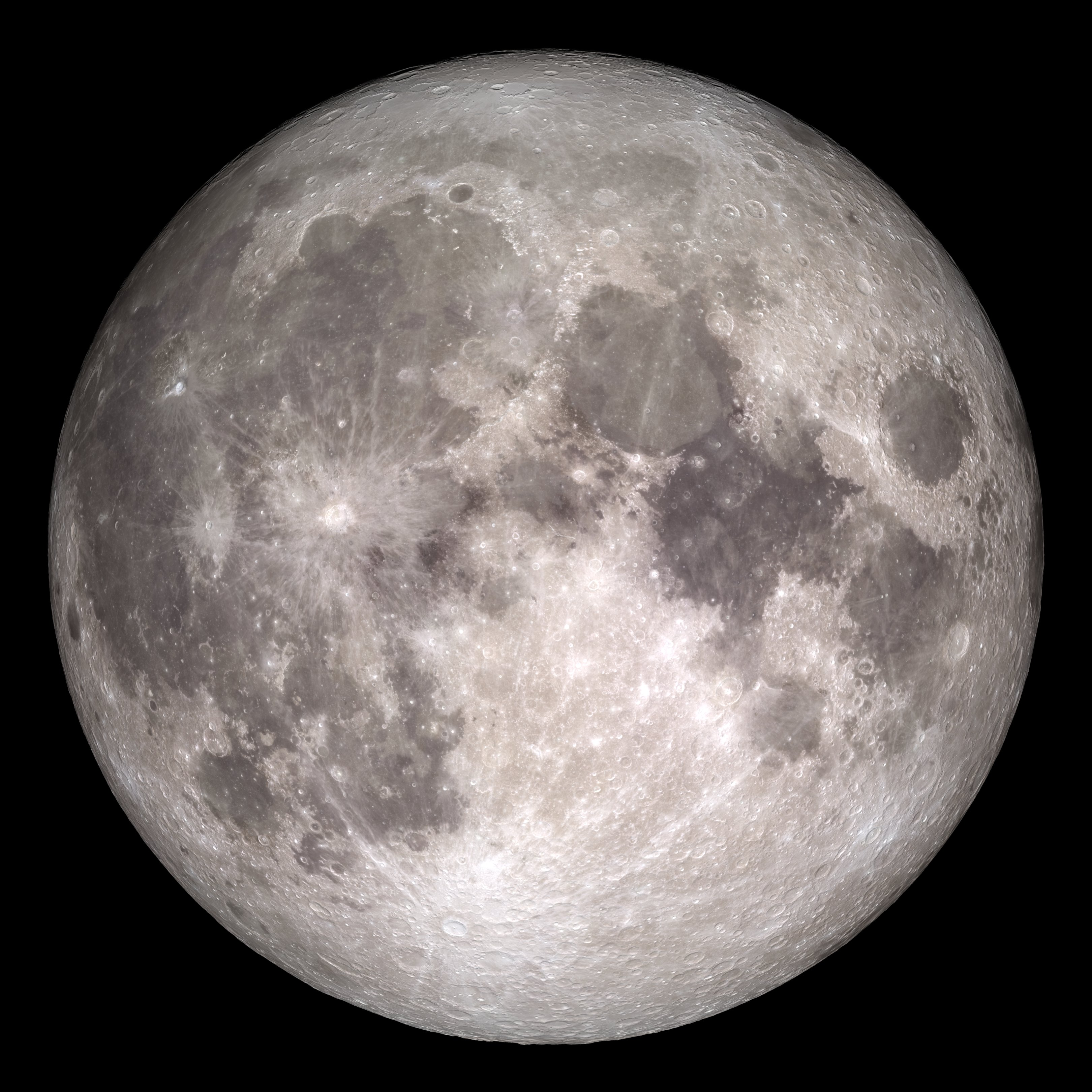 The moon (NASA)