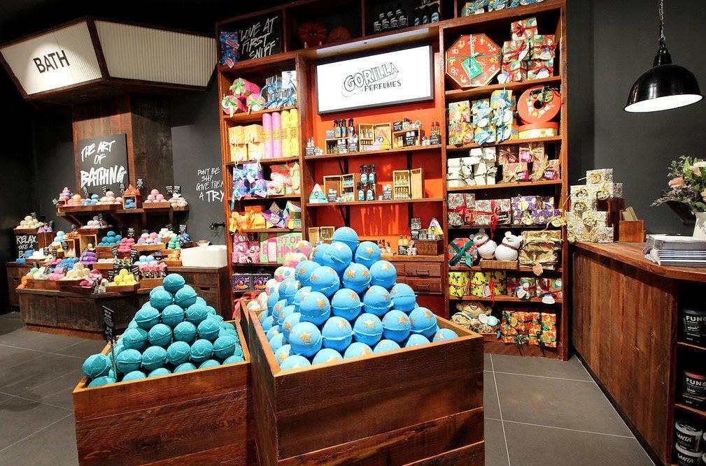 A Lush Australia store.