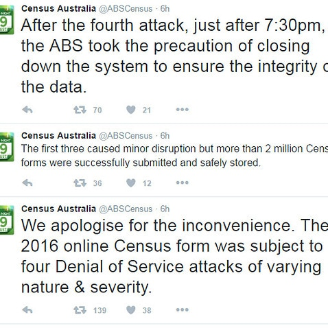 The ABS Census Twitter account.