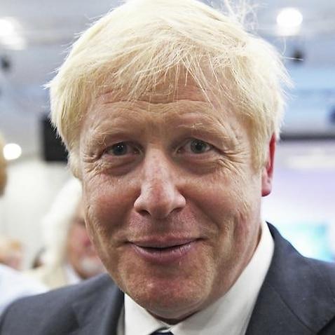 Conservative party leadership candidate Boris Johnson