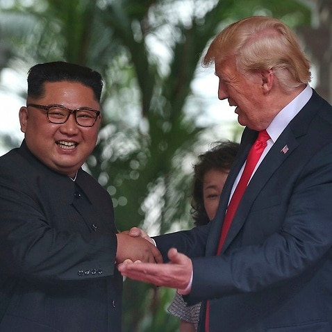 Trump Renews Defense of North Korea Agreement
