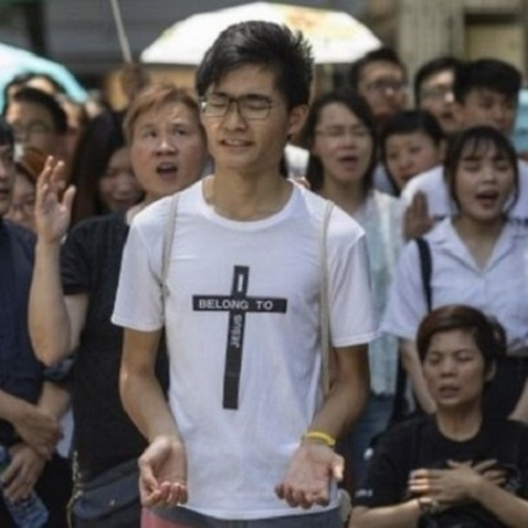 Christian groups have played a significant role in the Hong Kong protests