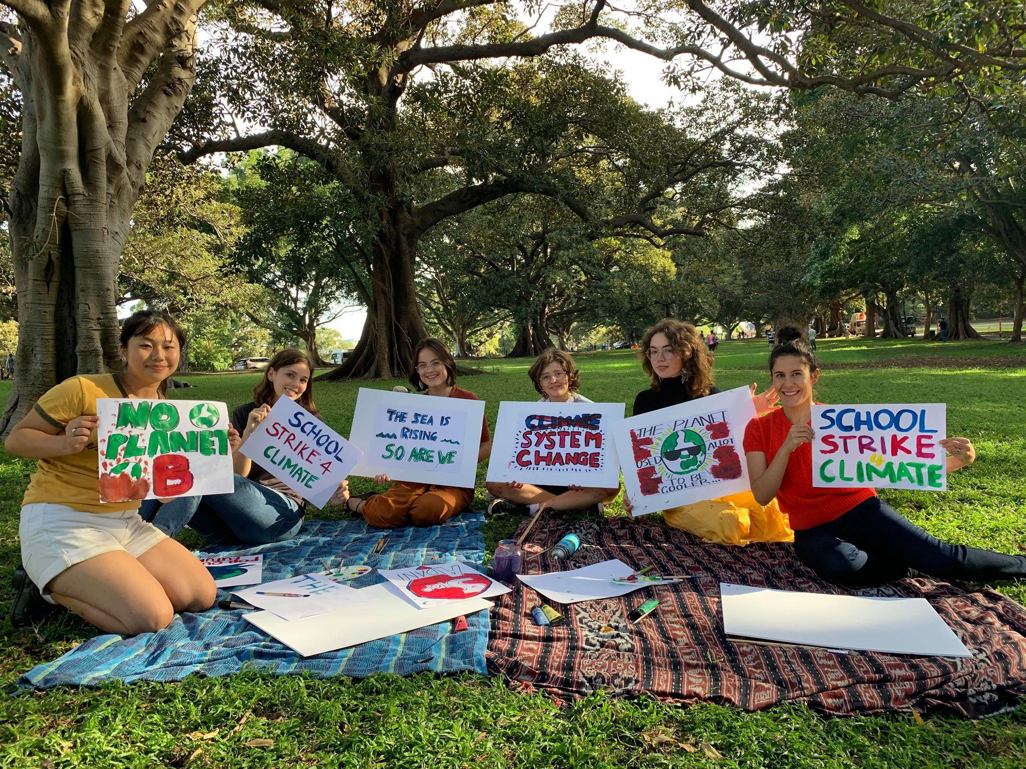 Climate Protestors