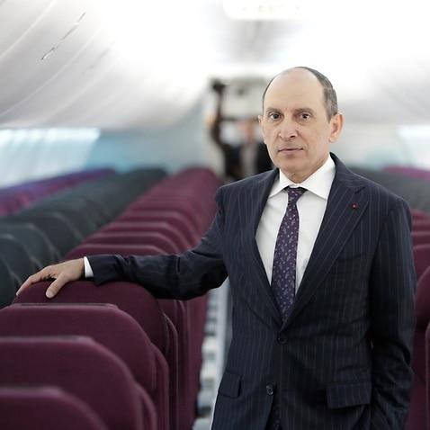 File image: Akbar Al Baker, Group Chief Executive for Qatar Airways