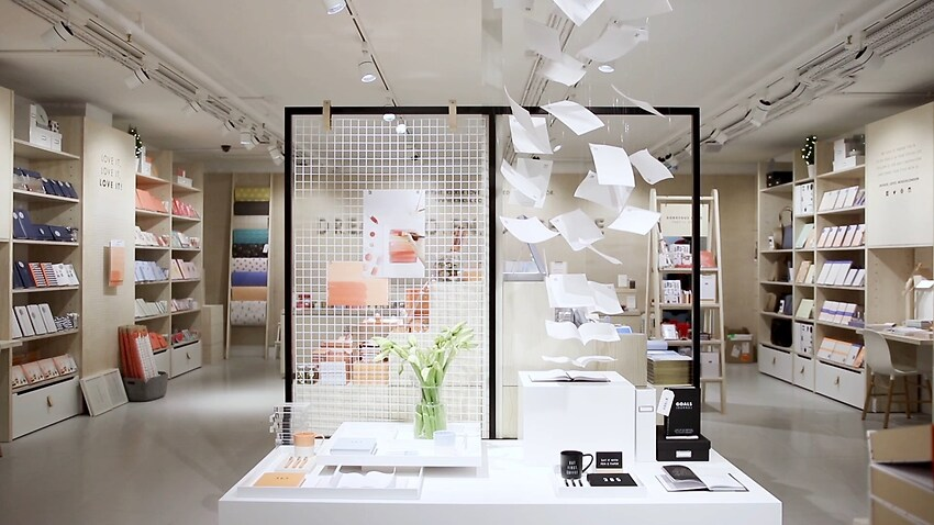 kikki.K's first London store.