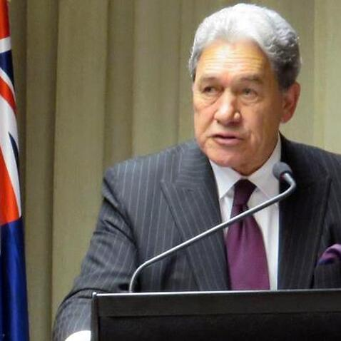 New Zealand deputy prime minister Winston Peters