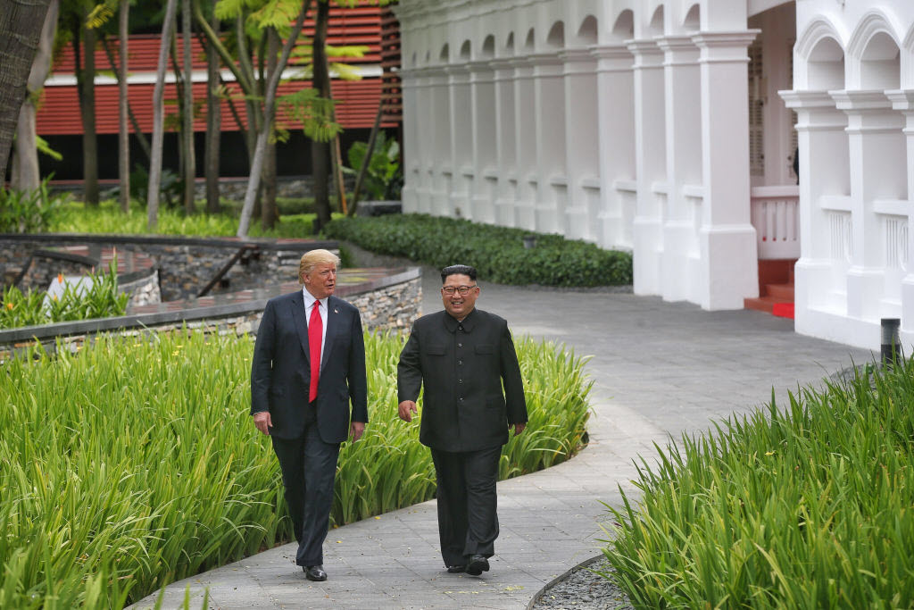 Kim invites Trump to visit Pyongyang as North hails 'radical switchover'