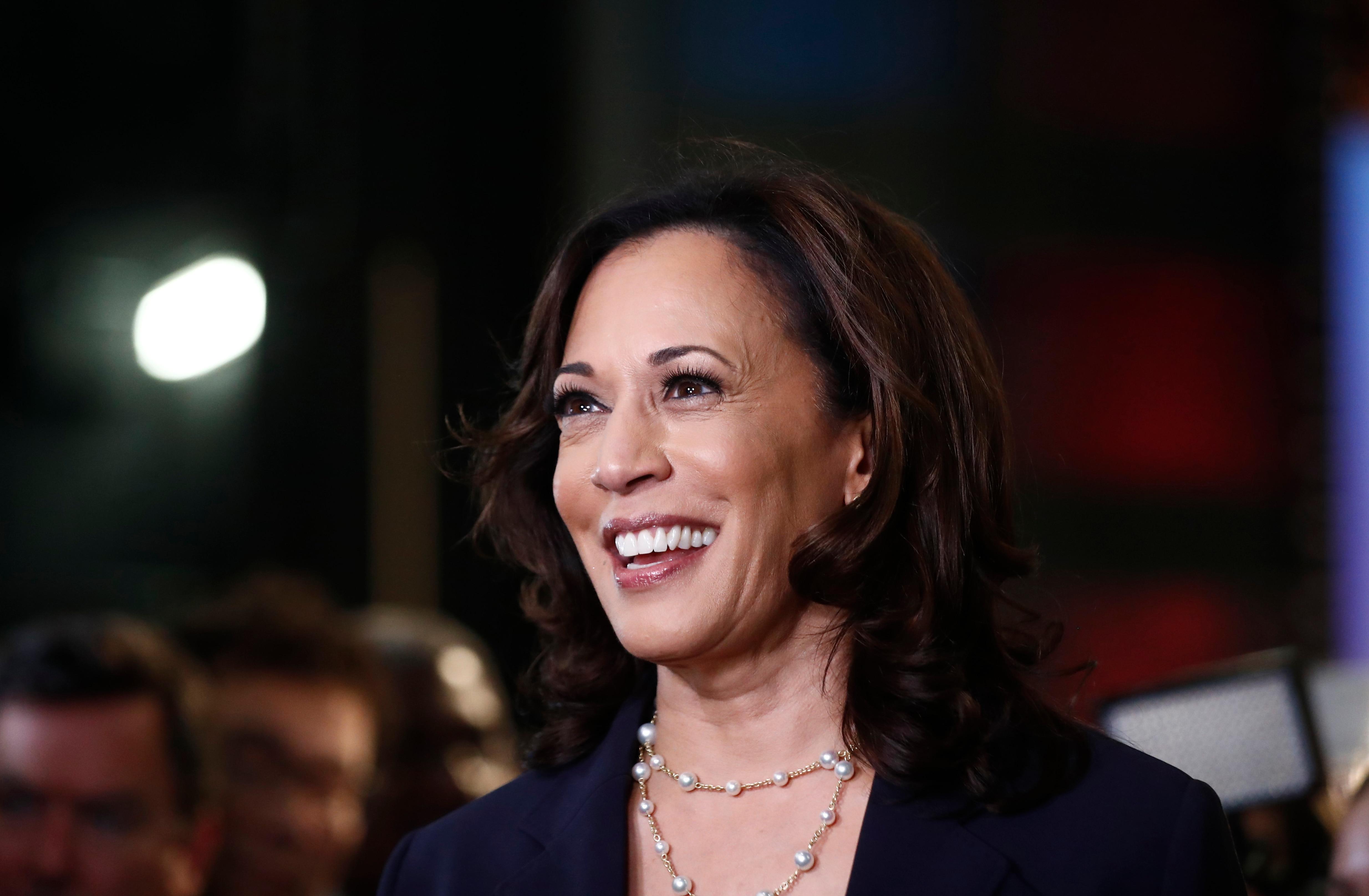 Kamala Harris Endorses Former Rival Joe Biden With Great Enthusiasm