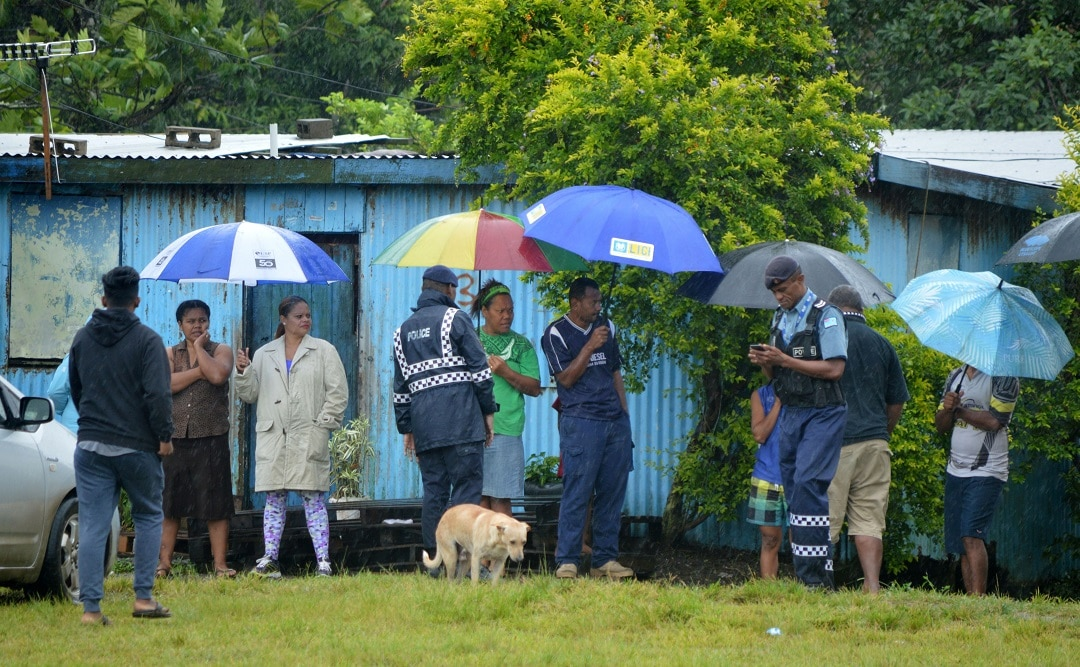 Long queues formed at polling stations in Fiji for the Pacific island nation's second election since a 2006 military coup.