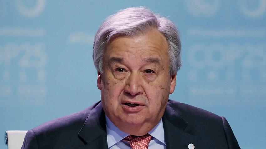 Antonio Guterres, Secretary-General of the United Nations.