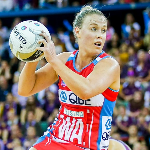 Former NSW Swifts player Kim Green