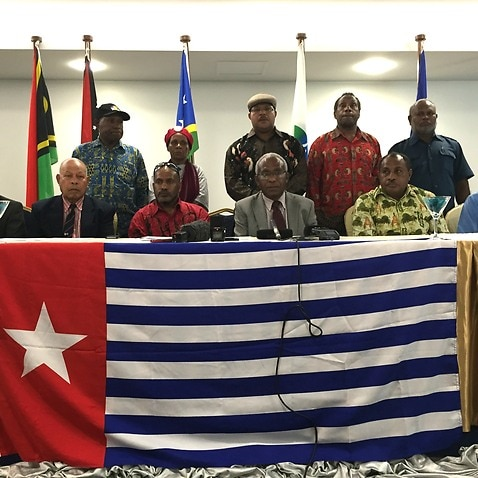 United Liberation Movement of West Papua receives first diplomatic recognition after 50 years campaigning for independence from Indonesia (SBS/Stefan Armbruster).