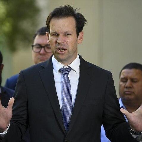 Australian Resource Minister Matt Cananvan