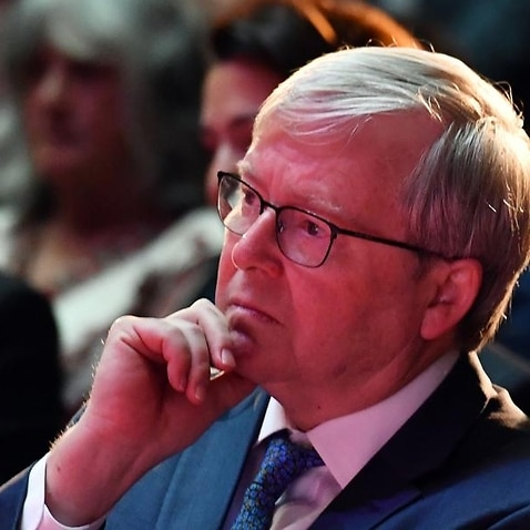 Kevin Rudd has denied reports he was warned about 'a large number of critical risks' of a home insulation scheme before the deaths of four young men