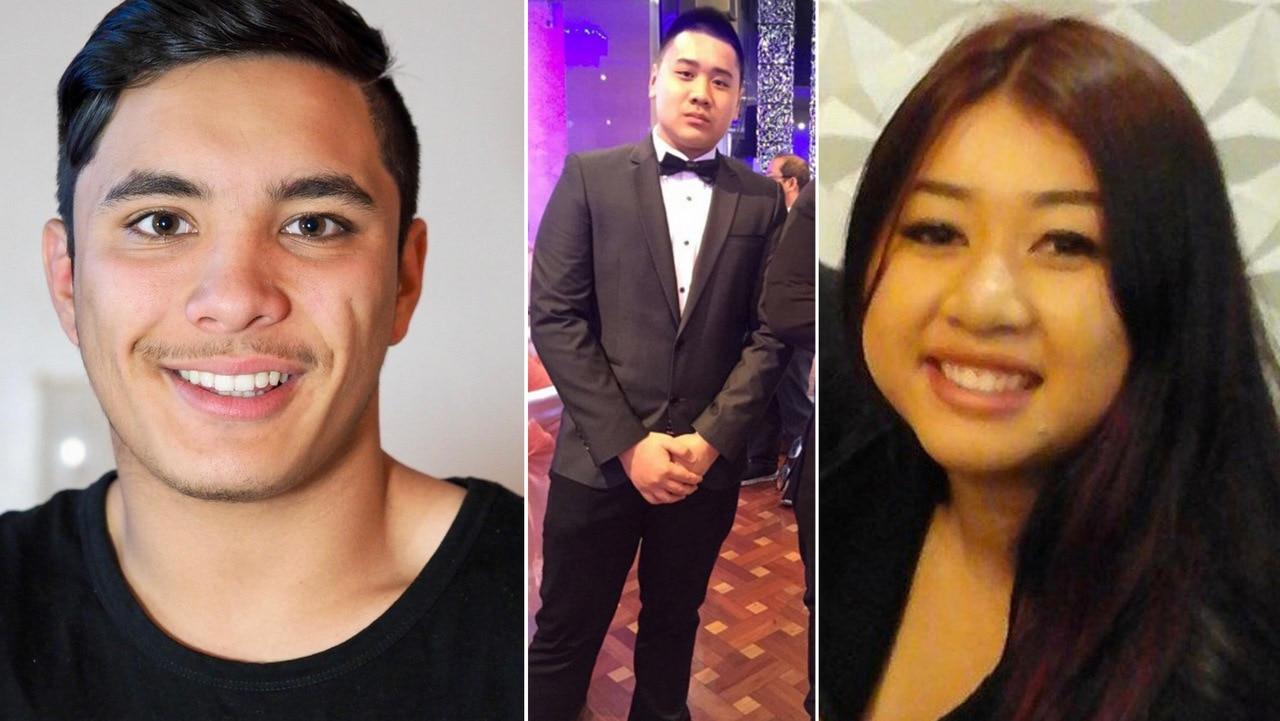 Joshua Tam, Hoang Nathan Tran and Diana Nguyen.