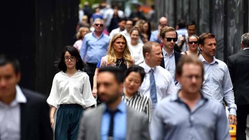 Australia's gender pay gap is now at 14 per cent