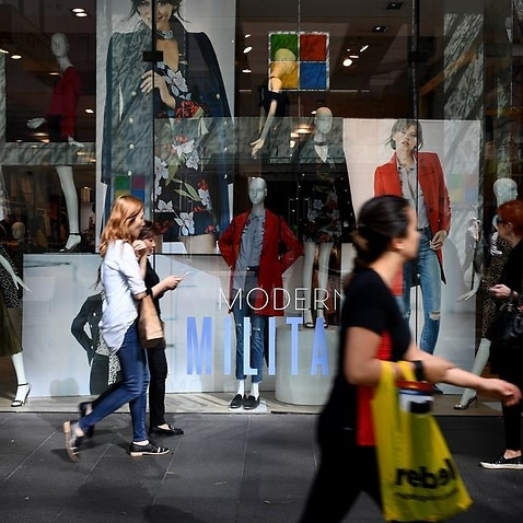 ABS RETAIL TRADE FIGURES STOCK