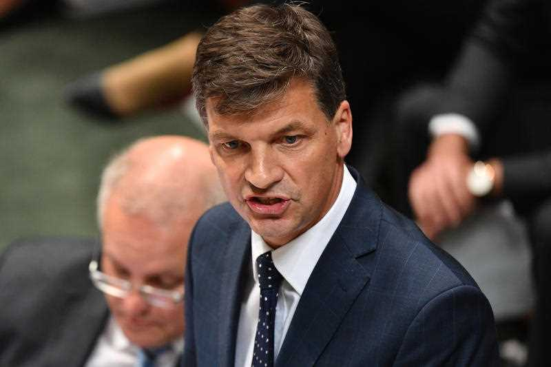 Emissions Reductions Minster Angus Taylor