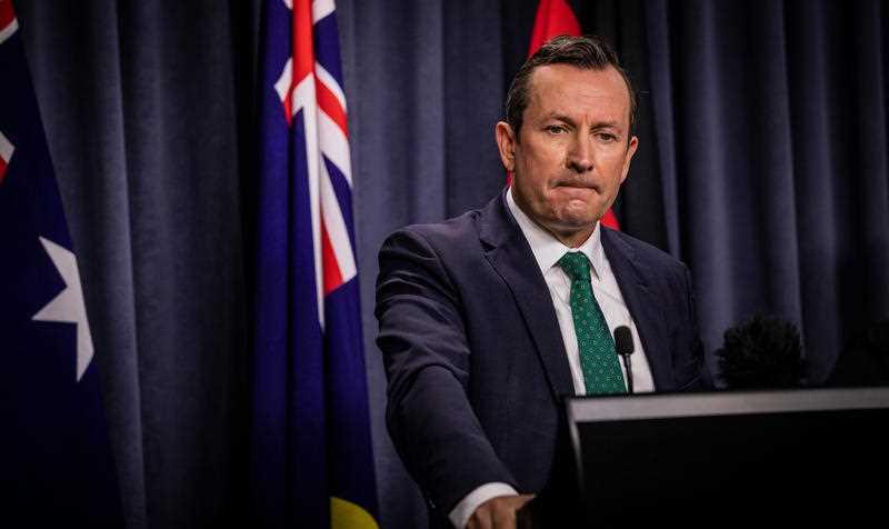 WA Premier and WA Labor leader Mark McGowan.