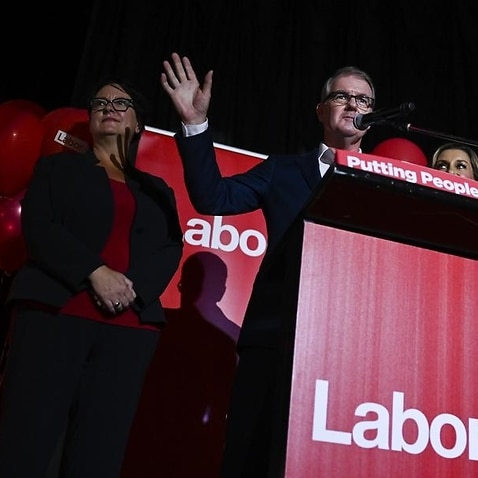 NSW Labor leader Michael Daley concedes defeat in the state election.