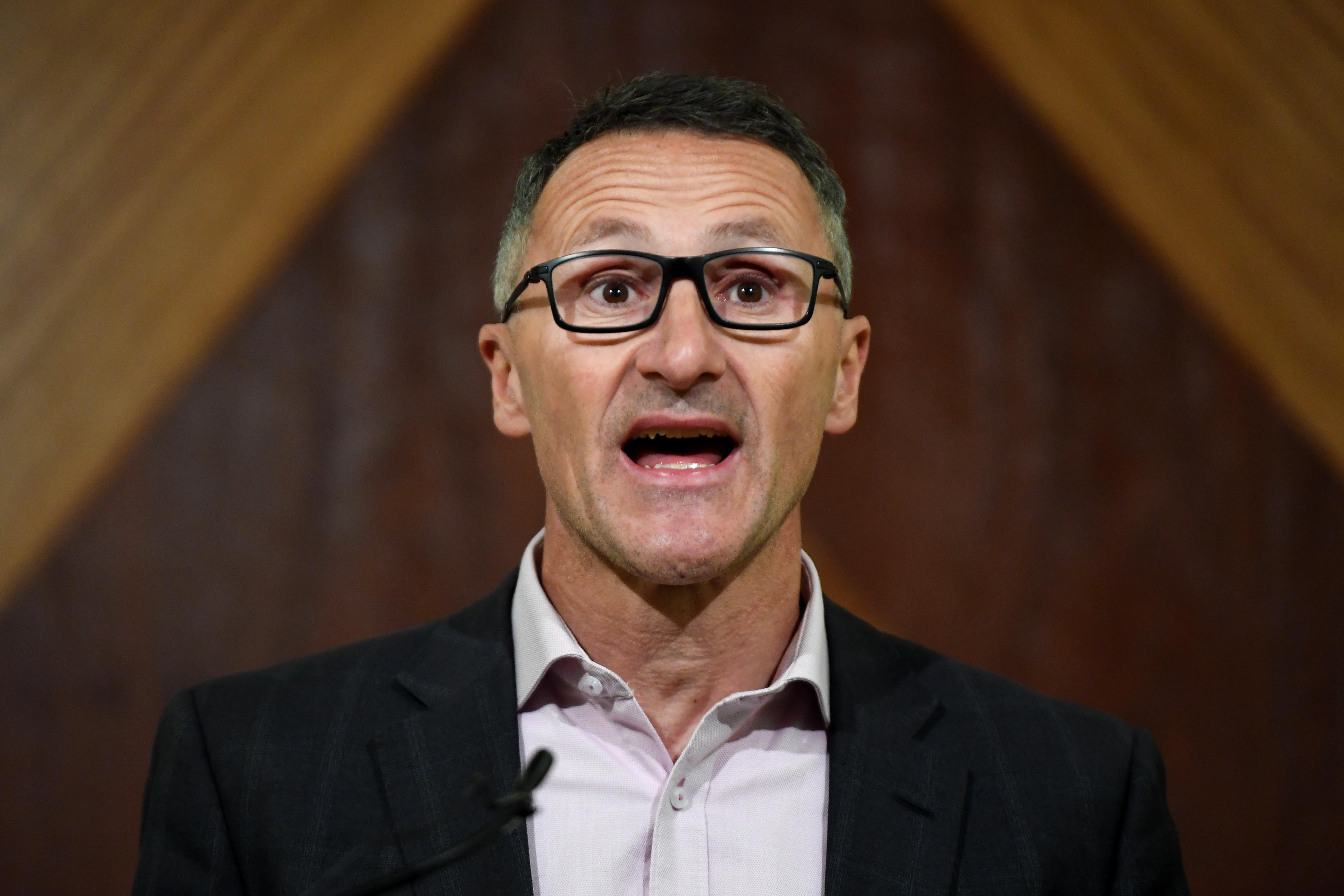 Greens leader Richard Di Natale.