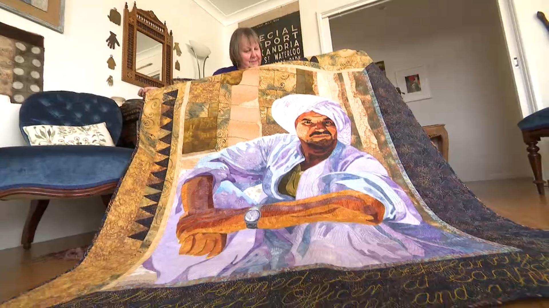 Quiltmaker Jennifer Bowker