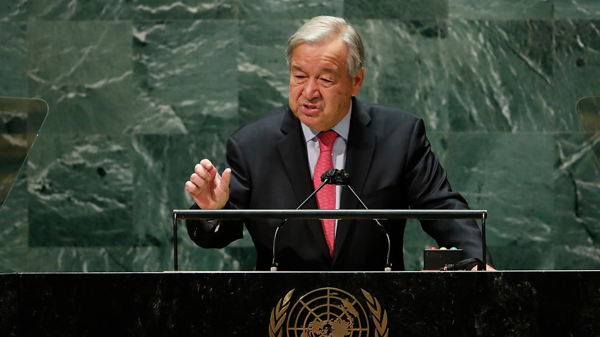 Image for read more article 'Global coronavirus vaccine inequity is 'an obscenity', UN chief says'