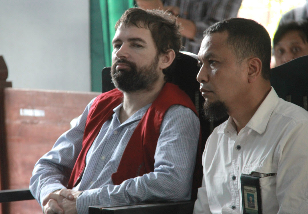 Indonesian court sentences Frenchman to death for drugs