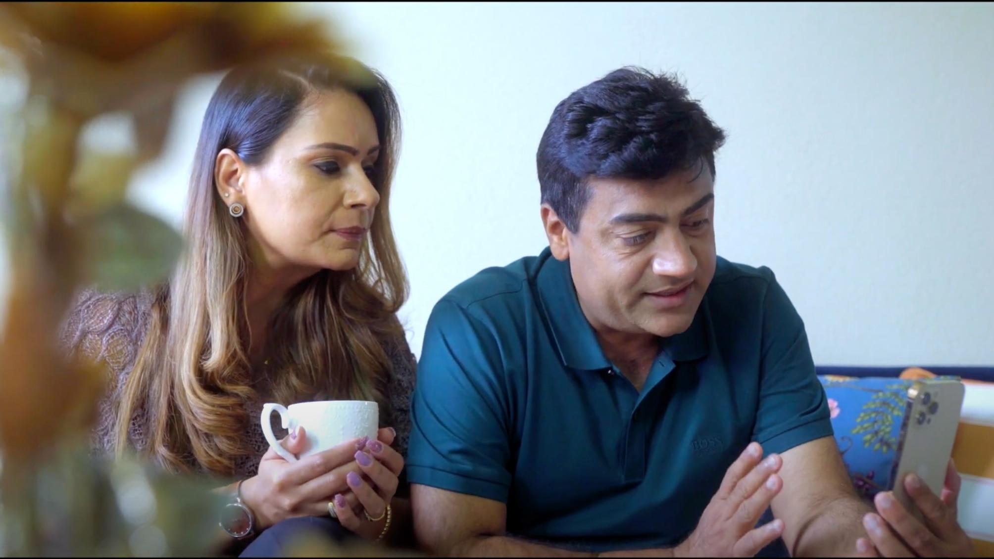 Manpreet Walia and Gurmeet Sran in the short film 'Saath Saath'