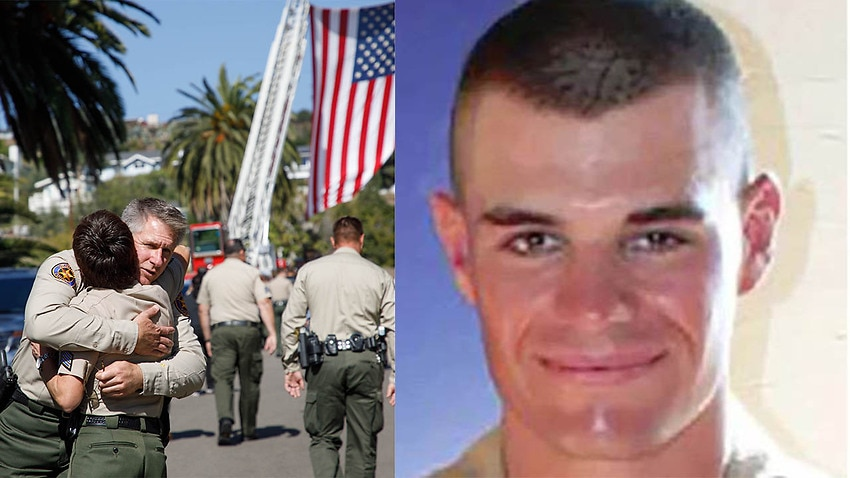 Image for read more article ''Ultimate sacrifice': Police officer's desperate attempt to stop ex-Marine gunman'