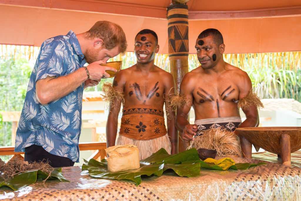 Royal tour of Fiji - Day Two