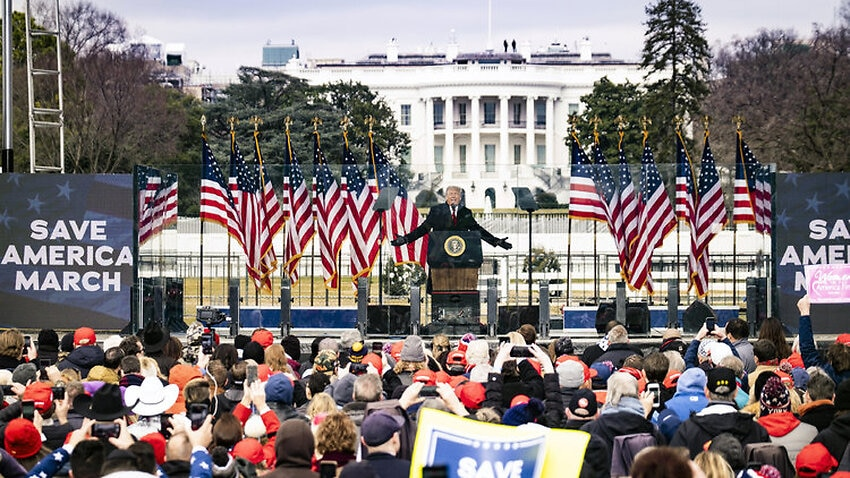 Image for read more article 'After his impeachment acquittal, Donald Trump tells supporters 'our movement has only just begun''