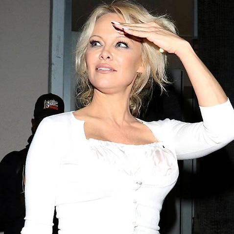 Pamela Anderson has supported WikiLeaks founder Julian Assange again.