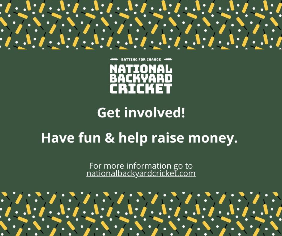 Get Involved - National Backyard Cricket