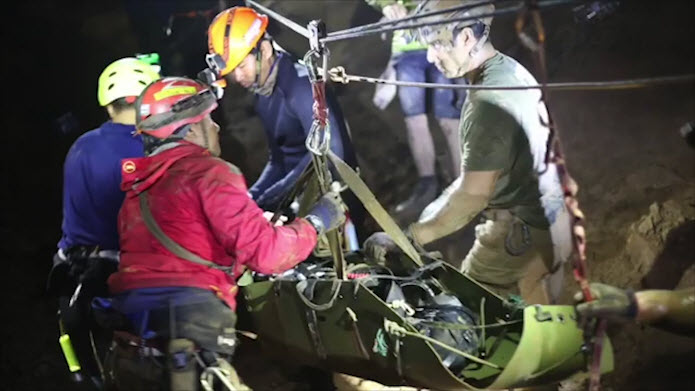 British diver: We are not heroes after Thai cave rescue