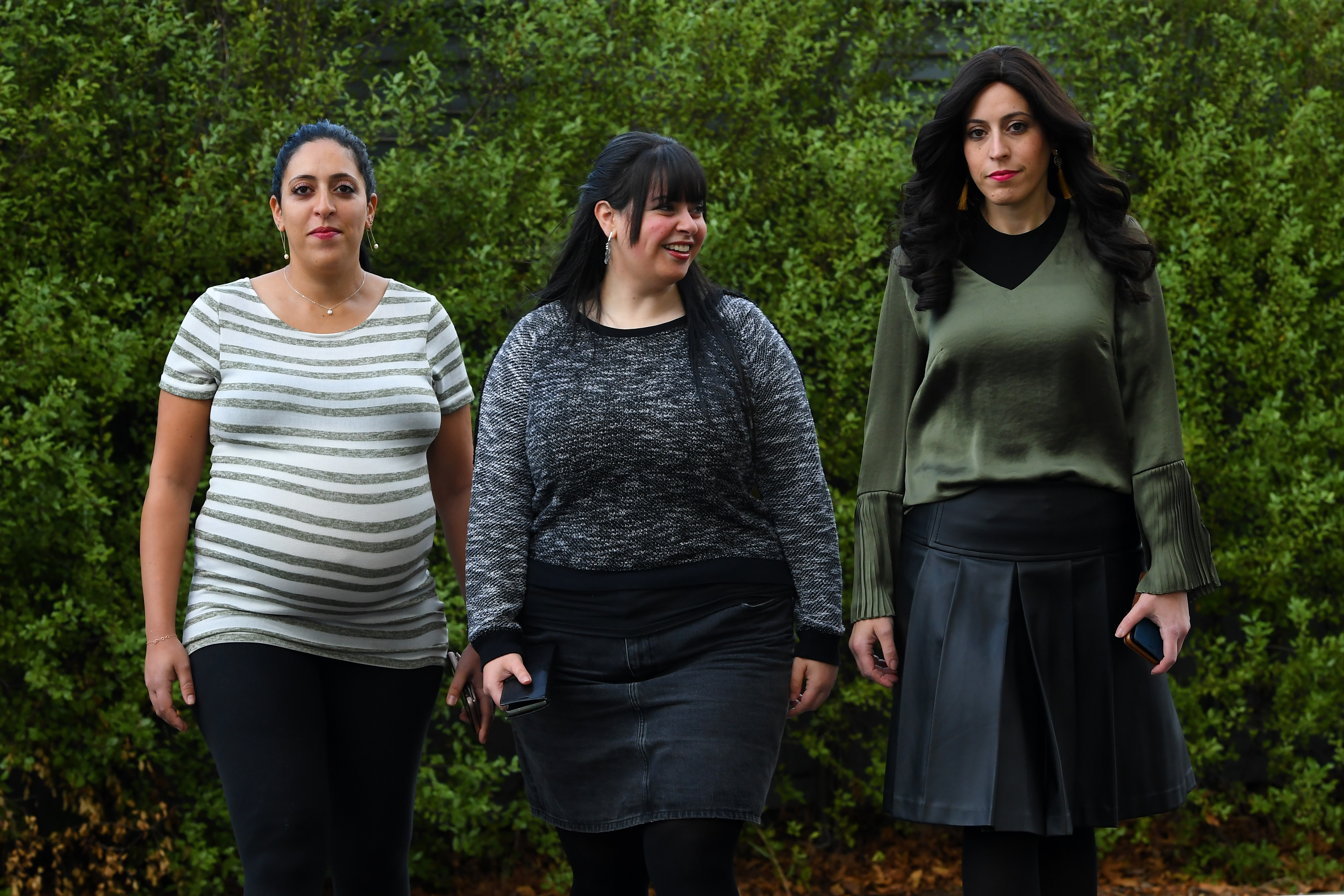 Sisters Elly Sapir, Dassi Erlich and Nicole Meyer say they are bruised but not broken by the battle to bring Malka Leifer to justice.