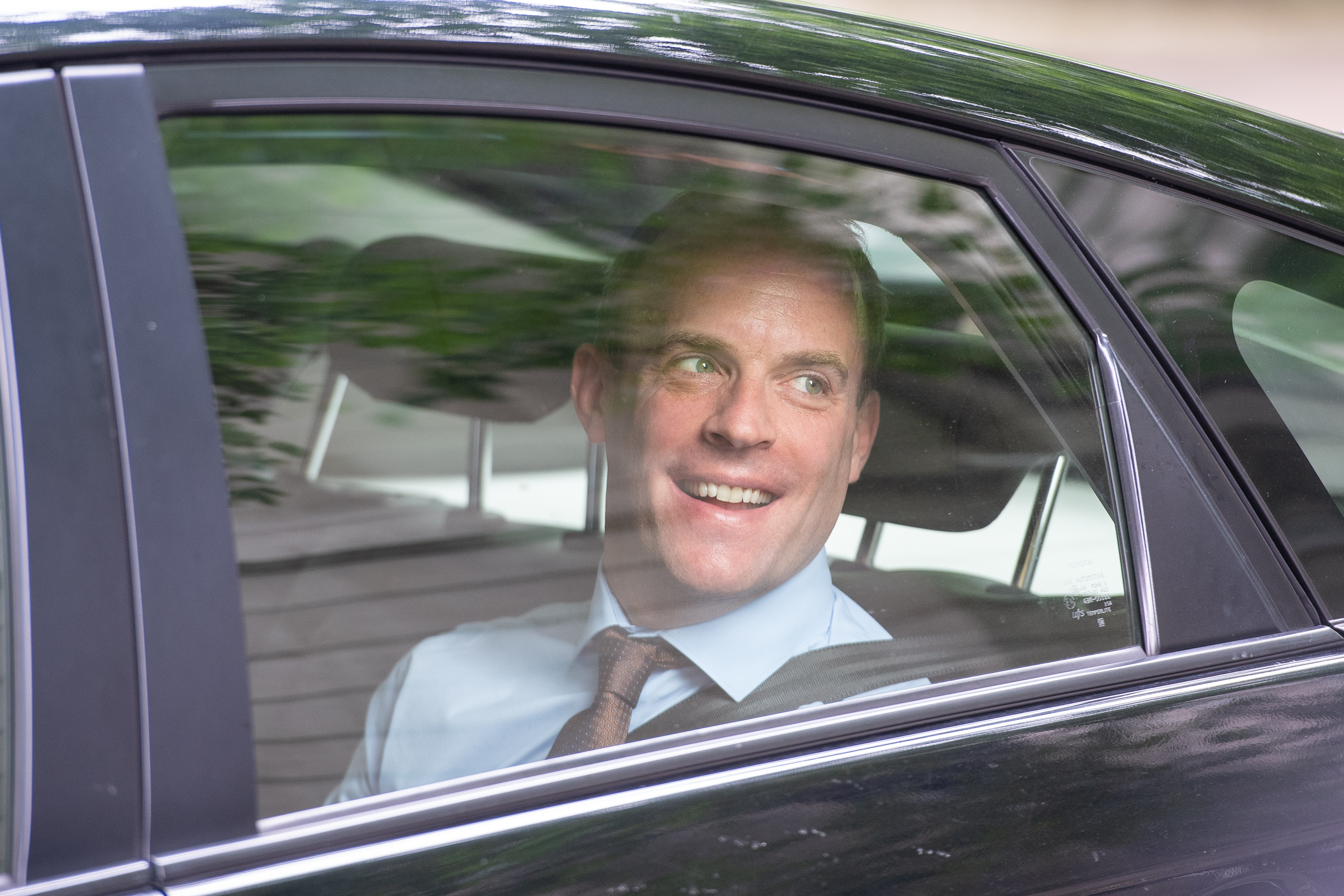 Former Conservative party leadership candidate Dominic Raab in Westminster, London.. Picture date: Wednesday June 19, 2019. Photo credit should read: Dominic Lipinski/PA Wire