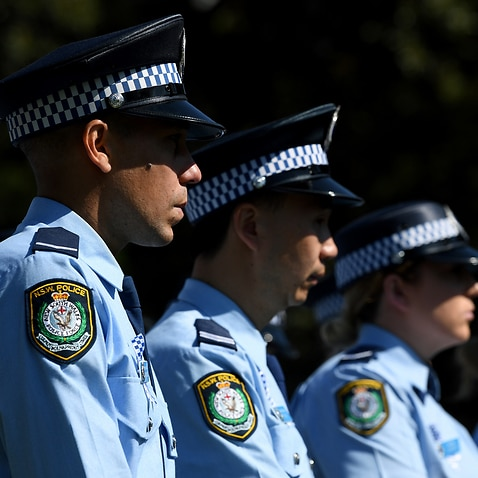 NSW Police at a service in Sydney