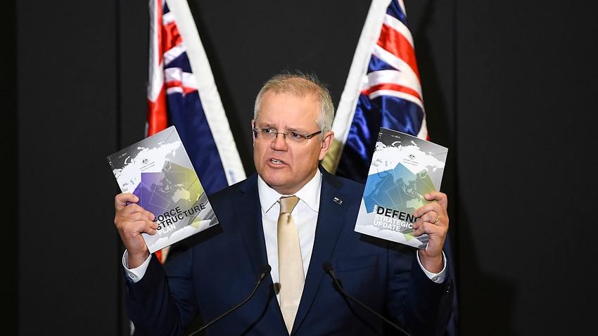 Image for read more article 'Scott Morrison unveils $270 billion plan to arm Australia with long-range missiles against 'more dangerous' world '