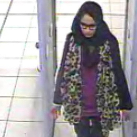 A handout photo made available by the London Metropolitan Police Service(MPS) on 20 February 2015 showing Shamima Begum.