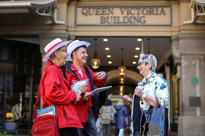 The City of Sydney have recruited volunteers to act as Sydney ambassadors to offer guidance to city visitors.