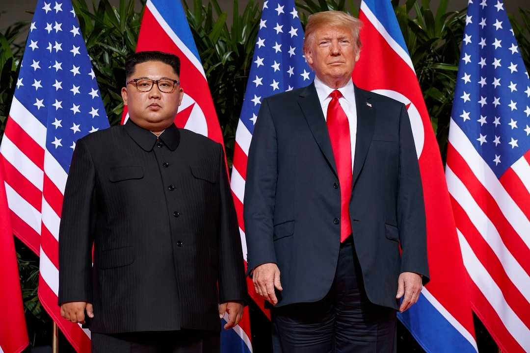 The US President Donald Trump was positive after his meeting with the North Korean leader Kim Jong-un on Sentosa Island.