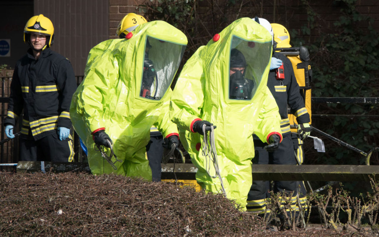 Sergei Skripal was found critically with his daughter on March 4 and were taken to hospital sparking a major incident in the UK.