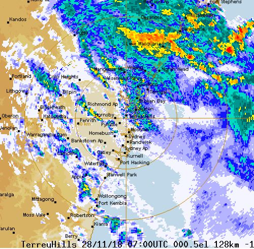 Airport Weather Map.Sydney Storm Ses Volunteer Dies On Duty Wild Weather Hammers Nsw