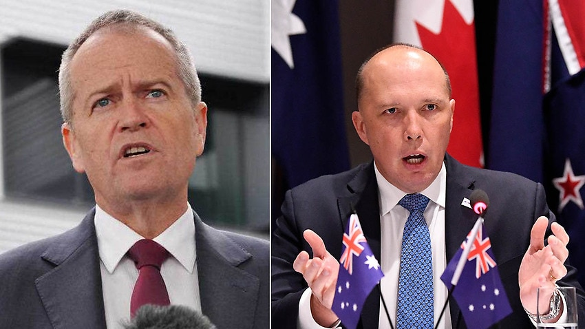 Image for read more article ''A nanny state': Bill Shorten roasts Peter Dutton over au pair drama'