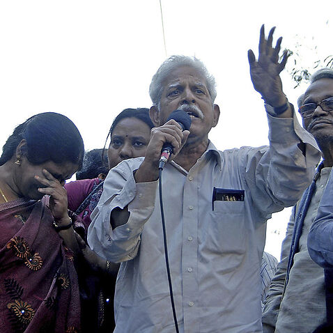Indian activist Varavara Rao has tested positive for COVID-19 while serving time in jail.