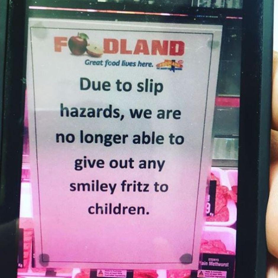 SA supermarket bans smiley fritz