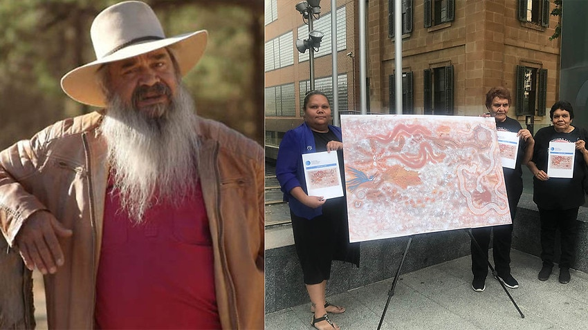Image for read more article 'Radioactive waste contractors 'damaged' cultural sites, allege traditional owners'