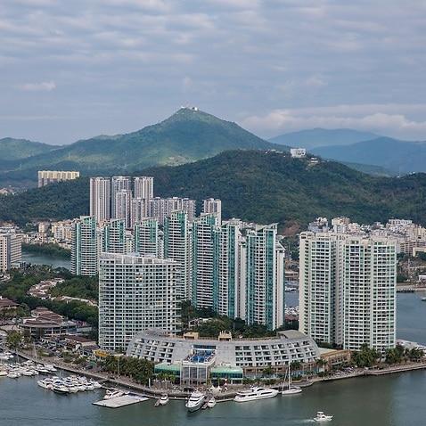 Sanya city south China's Hainan province.