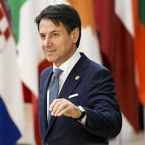 Italian Prime Minister Giuseppe Conte arrives for an European Council summit in Brussels, Belgium, 28 June 2018.